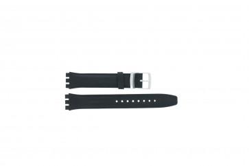 Uhrenarmband passend für Swatch marineblau 17mm
