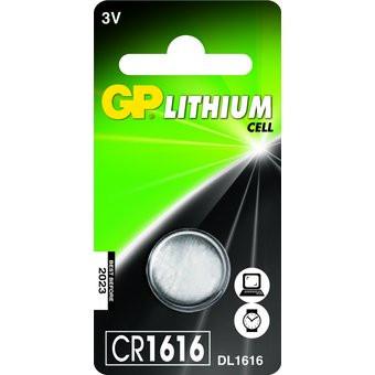Knopf Batterien GP CR1616