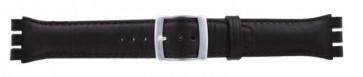 Uhrenarmband Swatch dunkelbraum WP-51643-19mm
