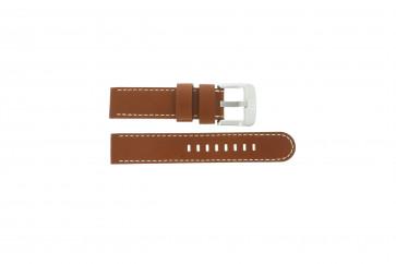 Danish Design Uhrenarmband IQ12Q711 / IQ12Q888 Leder Braun 20mm