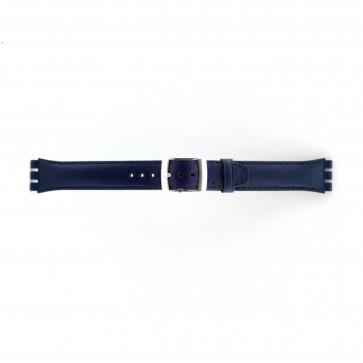 Swatch Uhrenarmband marineblau WP-51643-19mm