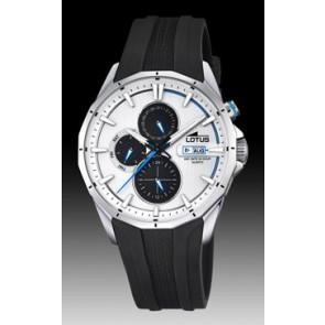 Lotus Uhrenarmband 18320/1 Silikon Schwarz