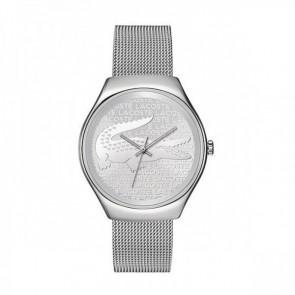 Lacoste Uhrenarmband 2000810 / LC-71-3-14-2469 Metall Silber 18mm