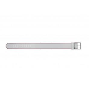 Lacoste Uhrenarmband 2000890 / LC-84-3-14-2596 Silikon Rosa 18mm