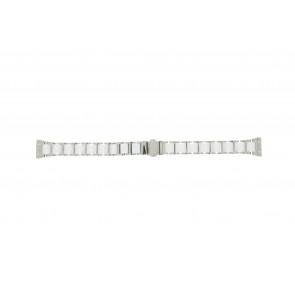 Boccia Uhrenarmband 3261-01 Stahl/Silikon Silber 16mm