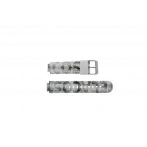 Lacoste Uhrenarmband LC-46-1-29-2224 / 609302262 / 2010532 Silikon Weiss 14mm