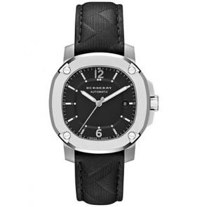 Uhrenarmband Burberry BBY1209 Kautschuk Schwarz 20mm