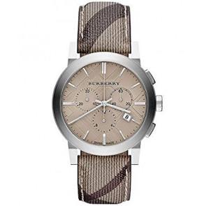 Uhrenarmband Burberry BU9361 Leder Braun