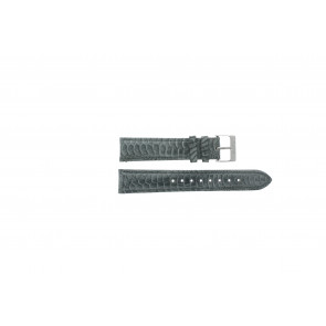 Esprit Uhrenarmband ES103062 / 819660 Leder Grau 18mm + grauen nähte