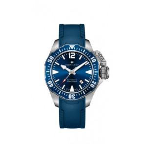 Uhrenarmband Hamilton H77705345 Kautschuk Blau 20mm