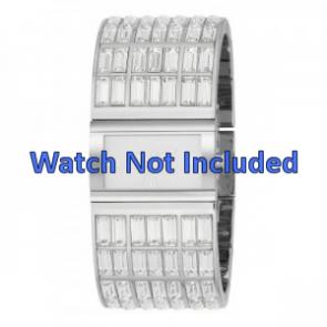 DKNY Uhrenarmband NY-3768 Stahl Silber 20mm
