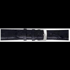 Morellato Uhrenarmband Amadeus XL G.Croc Gl K0518052019CR22 / PMK019AMADEU22 Krokodilhaut Schwarz 22mm + standardnähte