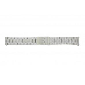 Calypso Uhrenarmband K5112 / K5118 Metall Silber 20mm