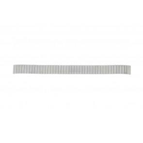Lasita Uhrenarmband Fixoflex LA-12 Metall Silber 12mm