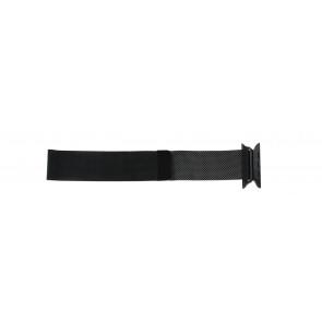 Apple (Ersatzmodell) Uhrenarmband LS.AB.108 Stahl Schwarz 42mm
