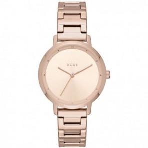 Uhrenarmband DKNY NY2637 Stahl Rosé 14mm
