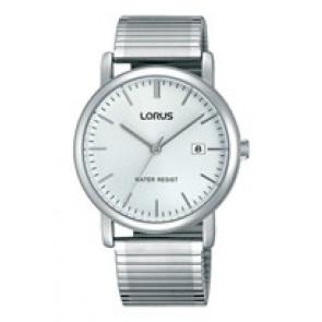 Lorus Uhrenarmband RG855CX9 / VJ32 X246 / RHA042X Metall Silber 19mm