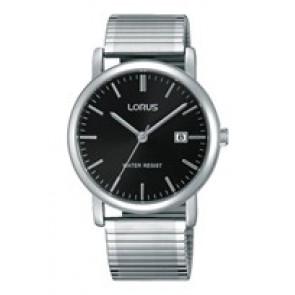 Lorus Uhrenarmband RG857CX9 / VJ32 X246 / RHA042X Metall Silber 19mm