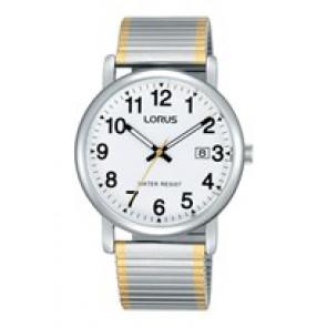 Lorus Uhrenarmband RG861CX9 / VJ32 X246 / RHA063X Metall Zweifarbig 20mm