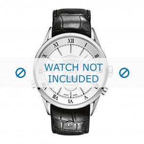 Roamer Uhrenarmband 508821-41-13-05 Leder Schwarz 22mm + standardnähte
