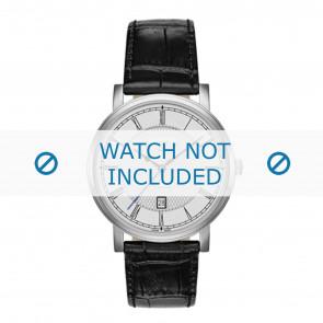 Roamer Uhrenarmband 709856-41-12-07 Leder Schwarz 20mm + standardnähte
