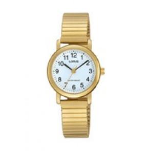 Lorus Uhrenarmband RRS78VX9 / V501 X471 / RHN147X Metall Vergoldet 13mm