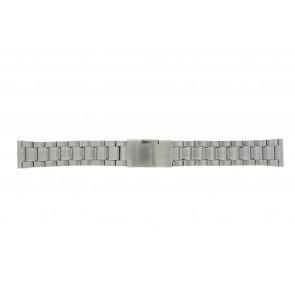 Other brand Uhrenarmband ST22Z Metall Silber 22mm