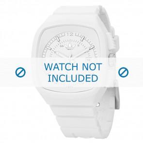 Adidas Uhrenarmband ADH2036 Silikon Weiß 22mm
