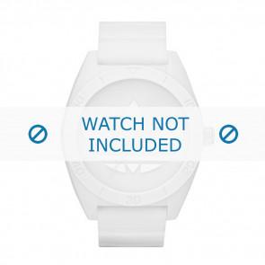 Adidas Uhrenarmband ADH2711 Kunststoff Weiss 24mm
