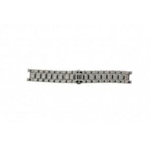 Armani Uhrenarmband AR-0145 Stahl Silber 22mm