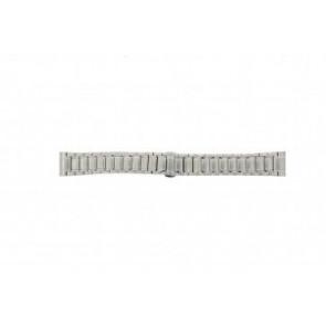 Armani Uhrenarmband AR0243 Stahl Silber 20mm