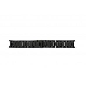 Armani Uhrenarmband AR-1400 Keramik Schwarz 22mm