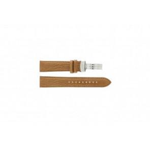 Armani Uhrenarmband AR5325  Leder Braun 20mm