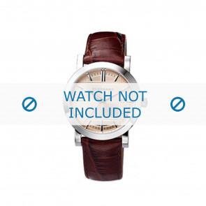 Burberry Uhrenarmband BU1356 Leder Braun 20mm
