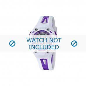 Calypso Uhrenarmband K5666-2 Kunststoff Lila 21mm