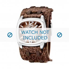 Calypso Uhrenarmband K5224/2 Leder Braun 26mm