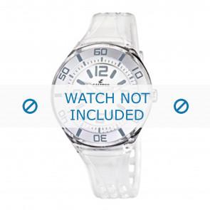 Calypso Uhrenarmband K5588/1  Kunststoff Weiss