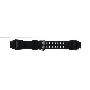 Casio Uhrenarmband GA-1000-1AV Silikon Schwarz 22mm
