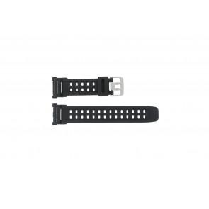 Casio Uhrenarmband G-9000-1  Silikon Schwarz 27mm