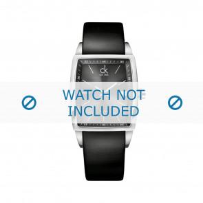 Calvin Klein Uhrenarmband K30411 Leder Schwarz