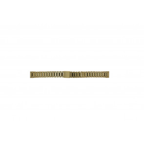 Morellato Uhrenarmband D0152025 Stahl Gold (Doublé) 14mm