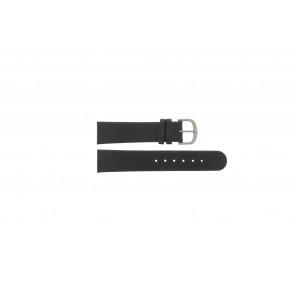 Danish Design Uhrenarmband IQ13Q672 / IQ12Q993 / DDBL20 Leder Schwarz 20mm