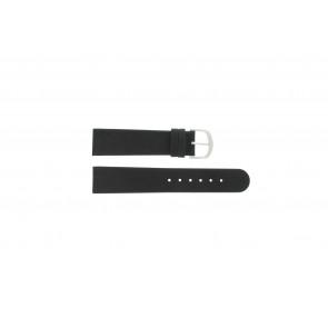 Danish Design Uhrenarmband IQ13Q732 / IQ16Q672 Leder Schwarz 20mm