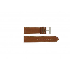 Davis Uhrenarmband BB0451.24L Leder Hellbraun 24mm