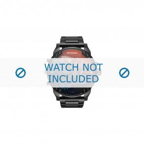 Diesel Uhrenarmband DZ7395 Metall Schwarz 28mm
