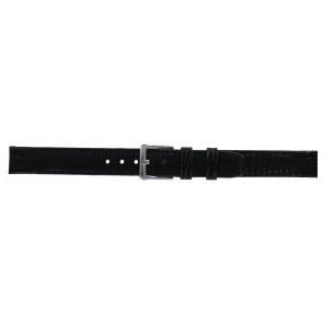 DKNY Uhrenarmband NY-3434 Leder Schwarz 14mm