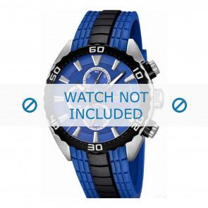 Festina Uhrenarmband F16664/6  Kunststoff Blau 23mm