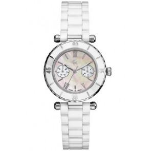 Guess Uhrenarmband GC35003L Keramik Weiss