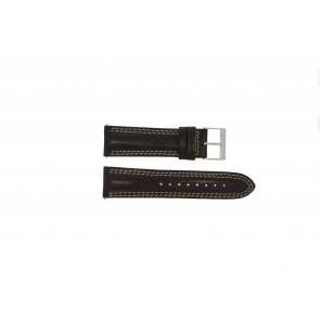 Guess Uhrenarmband W95046G2 Leder Braun 24mm
