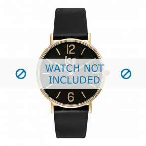 Ice Watch Uhrenarmband CT.BGD.36.L.16 Leder Schwarz 18mm